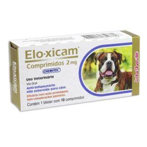 Anti-inflamatório Eloxicam Comprimido 2mg Chemitec