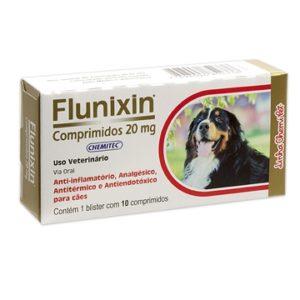 Anti-inflamatório Flunixin Comprimidos 20 mg Chemitec