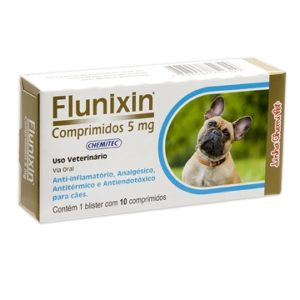 Anti inflamatório flunixin 5mg