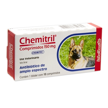Antibiótico Chemitril Comprimidos 150mg