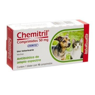 Antibiótico Chemitril® Comprimidos 50mg