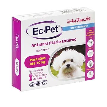 Antipulgas e Carrapatos EC-PET 10kg