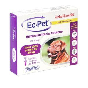 Antipulgas e Carrapatos Ec-Pet acima de 40kg
