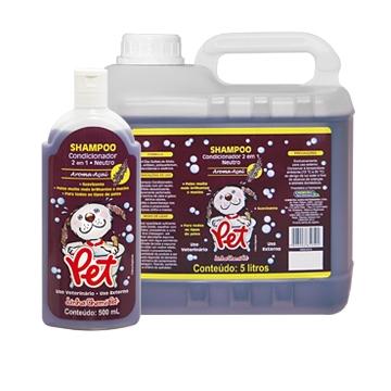 Pet® Shampoo Condicionador 2 em 1 Aroma Açaí
