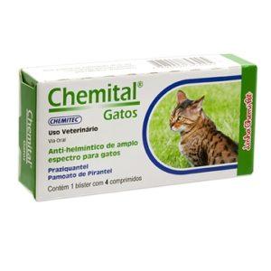 Vermífugo Chemital® Gatos