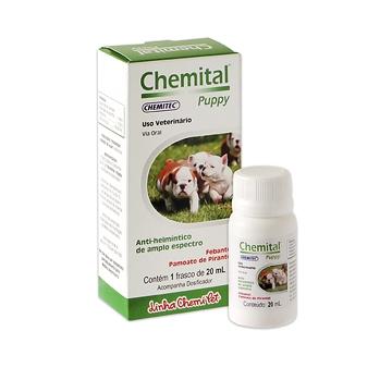 Vermífugo Filhotes Chemital Puppy