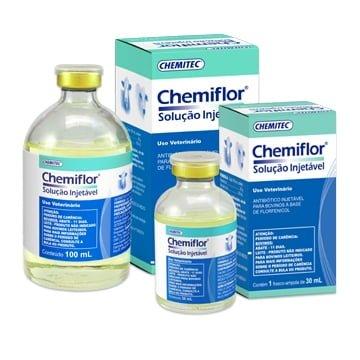 Antibiótico Chemiflor® Solução Injetável