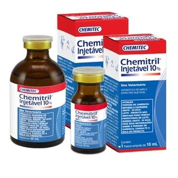 Antibiótico Chemitril® Injetável 10%