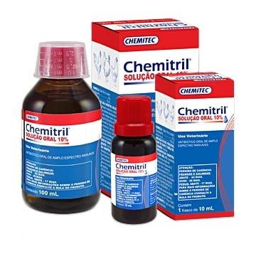Antibiótico Chemitril® Solução Oral 10%