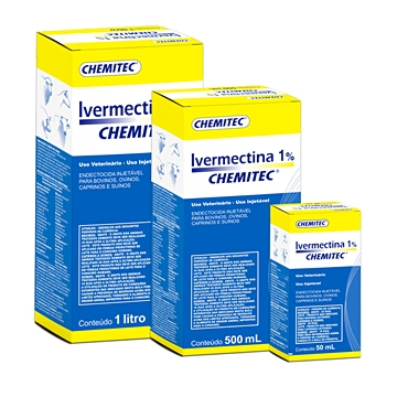 Endectocida Ivermectina 1%