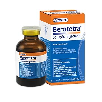 Quimioterápico Berotetra® Solução Injetável